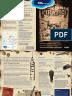 Pirates exhibition leaflet