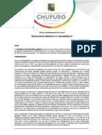 RESOLUCION DE GERENCIA 011 - MODIFICACION DEL PAC
