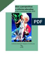 ANLISIS DE LA REFORMA EDUCATIVA, CNTE, MEMORIA 2016