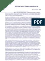 Carta apostólica Dies Domini S