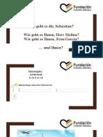 Deutsch 1 - Tag 3