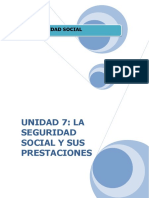 UD7. LA SEGURIDAD SOCIAL Y SUS PRESTACIONES