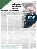 Entrevista de Afonso Pinhão Ferreira ao jornal MAIS/Semanário - 18.11.2020