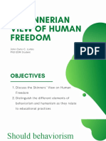3.1 Skinnerian View of Human Freedom.pptx