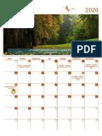 Calendar literar - septembrie 2020