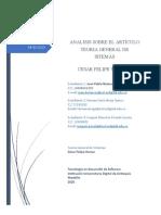 Analisis Articulosobre teoría de sistemas