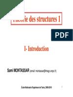 Théorie des structures1-Chapitre1