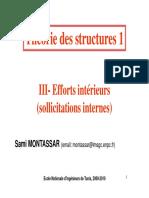 Théorie des structures1-Chapitre3