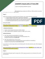 Integration of IndiaMART V2.0