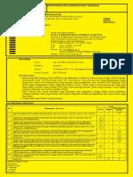 Form Kuning MESO 2020 Arif Mirza R