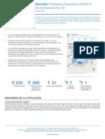 informe situacion Guatemala