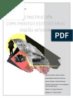 Rendon Sabrina Deconstruccion Como Proceso Estetico en El Diseño Interior