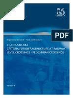 L1-CHE-STD-034 v1 - Criteria for Level Crossings Pedestrian Crossings.pdf