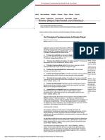 Os Princípios Fundamentais do Direito Penal - DomTotal