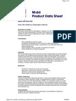 Mobil SHC Série 600 Product Data Sceet