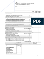 Ficha de evaluacion curricular postulantes