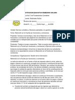 Guía 6. Fundamentos Contables 8o.