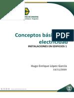 CONCEPTOS BASICOS DE INS. ELECTRICAS