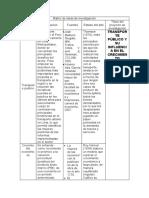 Matriz de ideas de investigación