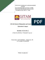 BA EMV & EPP Sem II Syllabus 2018-19