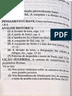 Análise dos livros - Históricos- Thompson  1