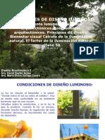 CLASE 5B Condiciones de diseño luminoso
