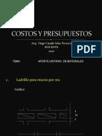 CLASES DE COSTOS - 05 - 2020