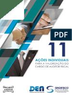 AÇÕES INDIVIDUAIS PARA A VALORIZAÇÃO DO CARGO DE AUDITOR FISCAL PROJETO AUDITOR VALORIZADO - PDF Download grátis