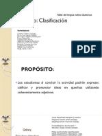 PPT ADJETIVOS Y CLASIFICACIÓN