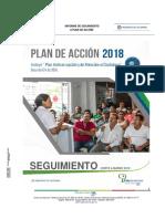 Informe de Seguimiento al Plan de Acción con corte a Marzo 2018