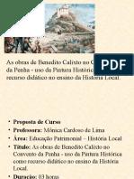 As obras de Benedito Calixto no Convento da Penha - uso da Pintura Histórica como recurso didático no ensino da Historia Local.