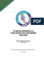 Plan de Desarollo 2020-2023 Gob NdeS
