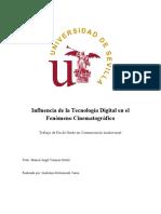 Tecnología Digital en el fenomeno cinematografico