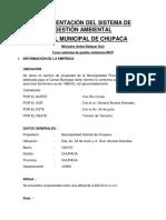 SISTEMA INTEGRADO DE GESTIÓN AMBIENTAL-CASO CAMAL CHUPACA, JUNÍN, PERÚ