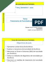 Aula 5 Recup - FarmacotoJjxicologia - dr. Simone Pharm_2020