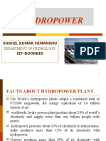ppt on Hydropower