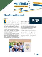 Periodico El Megafono 7-1 the Team Gold