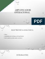 Amplificador operacional definitivo