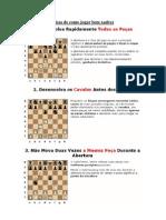 Dicas de como jogar bem xadrez