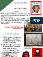 Castro y revolución cubana