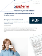 Rilevazione Presenze-controllo Presenze a Milano