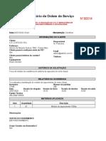 Relatório de Ordem de Serviço -80014