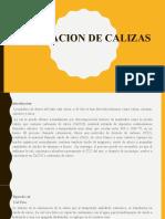 5 Clases VI-1 Cc. Carbon-Calcinacion Cal