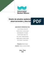 MONOGRAFÍA DE DISEÑO EPIDEMIOLÓGICO GRUPO 6