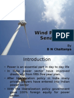 wind power senario