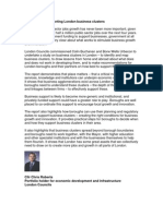 Business Clusters Foreword and Report