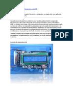 Arduino LCD indicador de temperatura con