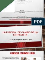 LA FUNCION  DE CAMBIO DE LA ENTREVISTA EXPOSICION.pptx