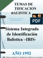 SISTEMAS DE IDENTIFICACION BALISTICA