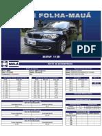 Teste Folha-Mauá - BMW 118i